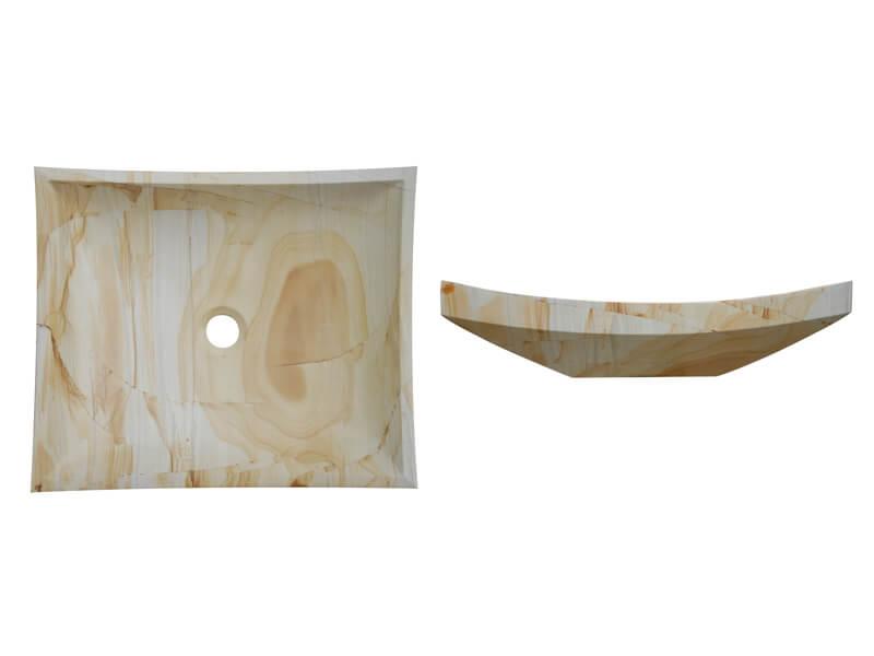 Teak Wood SK-2002| Marble Sink